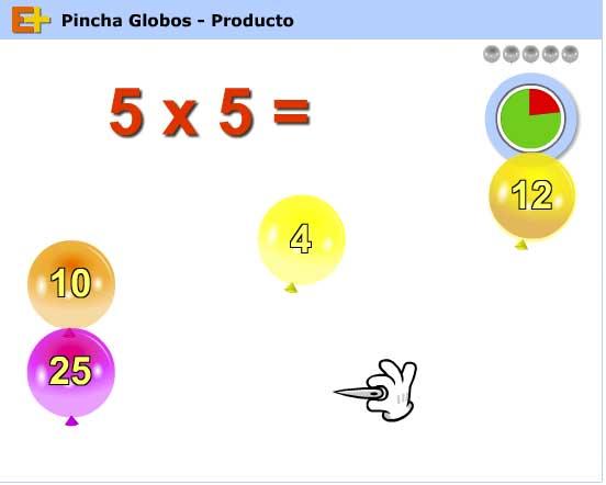 Pincha globos producto