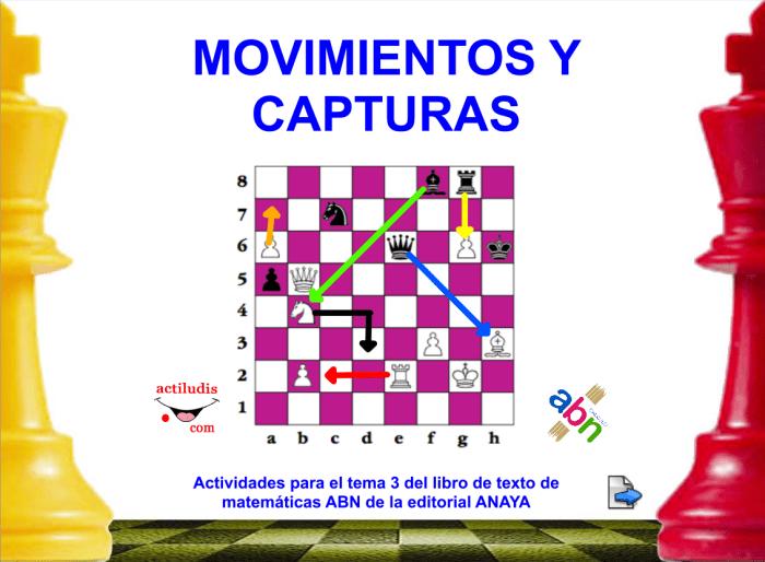 MOVIMIENTO DE LAS PIEZAS