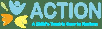 ACTION logo color blue