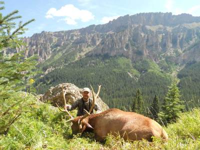 colorado archery wilderness elk hunting