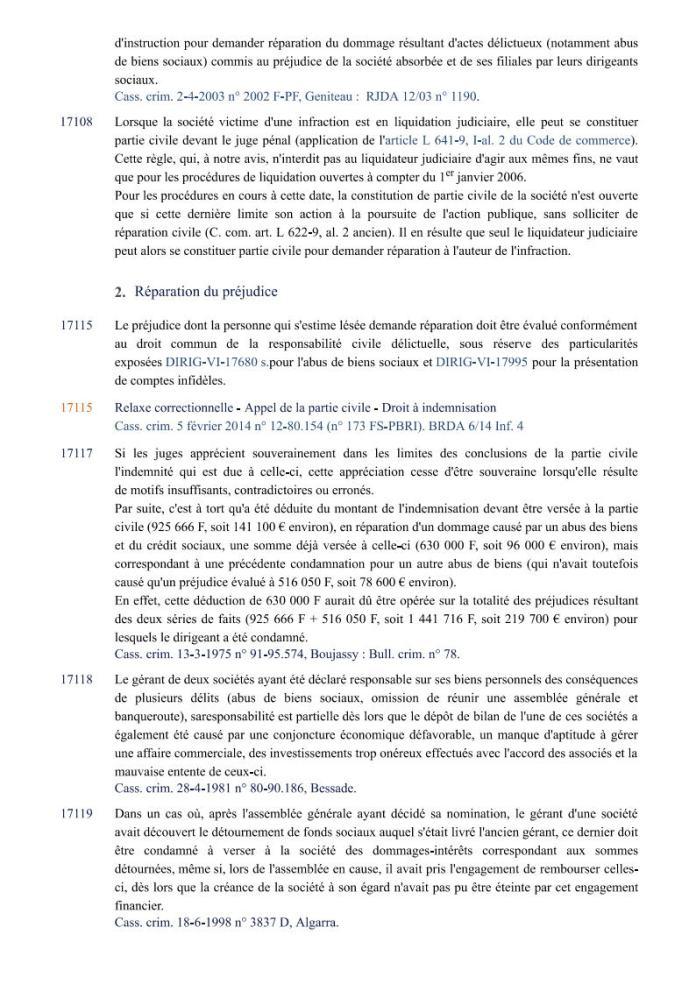 ÉDITIONS FRANCIS LEFEBVRE Définition de laction civile Page3 - Définition de l'action civile qui a permis à RANARISON Tsilavo de se faire attribuer 1.500.000.000 ariary alors qu'il ne peut pas être partie civile par les Editions Francis LEFEBVRE