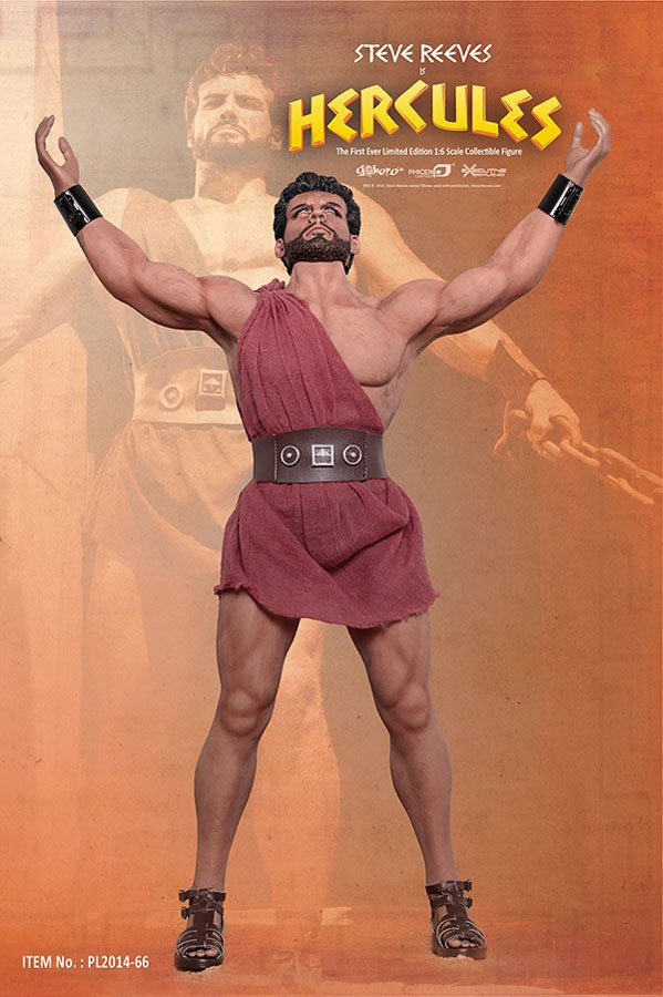 Steve Reeves Hercules Action Figure Up For Pre-order