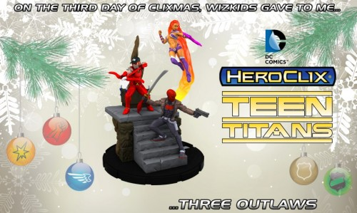 nu52 Outlaws in HeroClix Teen Titans set
