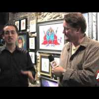 Mattel Video Interview- Under the Influence: Masters of the Universe Art Show
