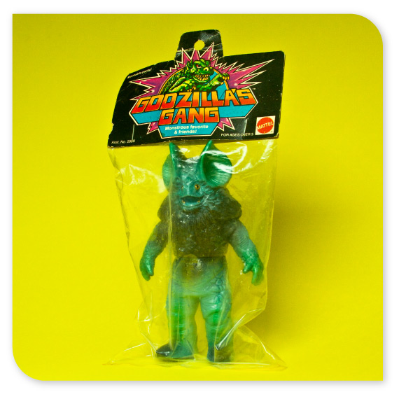 Godzilla's Gang Packaging