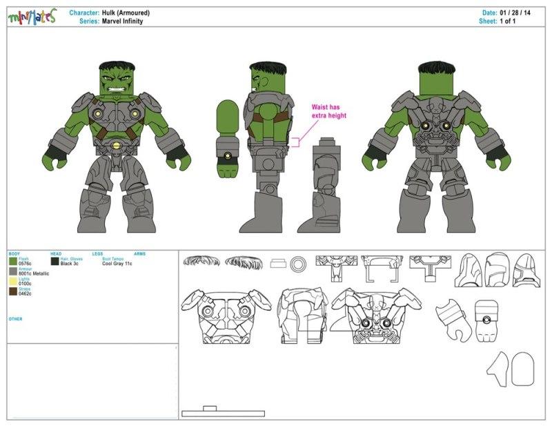Marvel Infinity - Hulk (Armoured)
