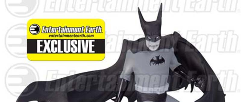 Batman Statue Entertainment Earth Exclusive Tony Millionaire DC Collectibles