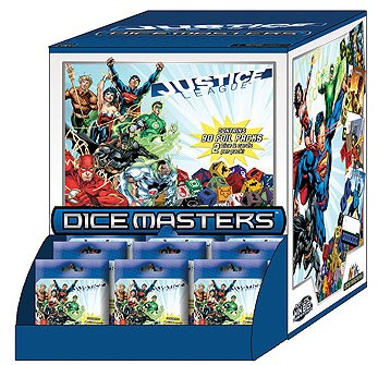 Dice Masters Justice League Boosters