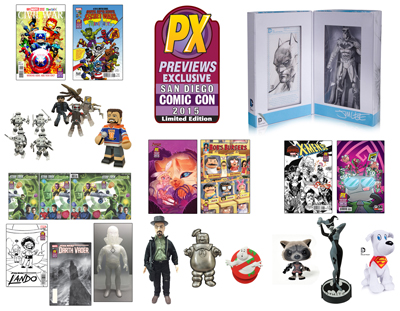 Action Figure Insider » Diamond Showcases San Diego Comic