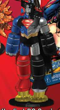 Superman Batman Robot