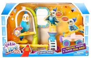 Little Live Pets Clever Keet Box