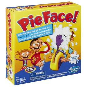 Pie Face Game Box