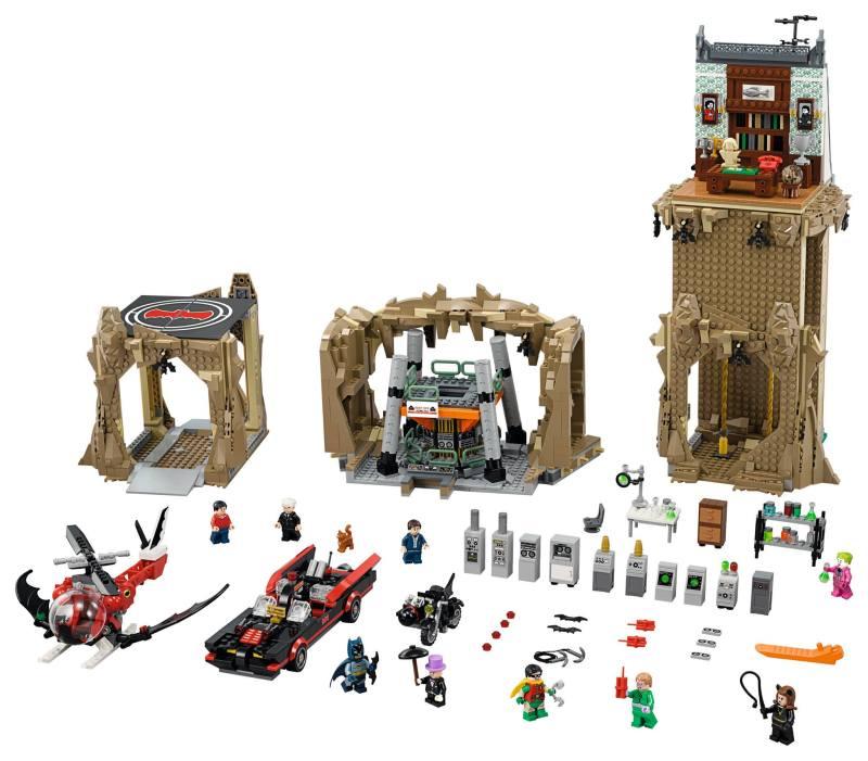 Lego66BatmanBatcaveSet1