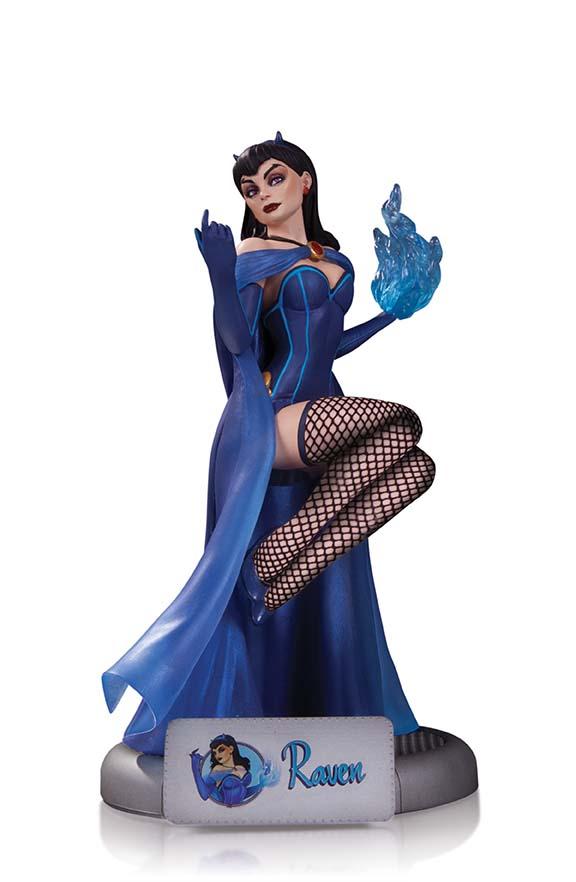DC_Comics_Bombshells_Raven_Statue_1