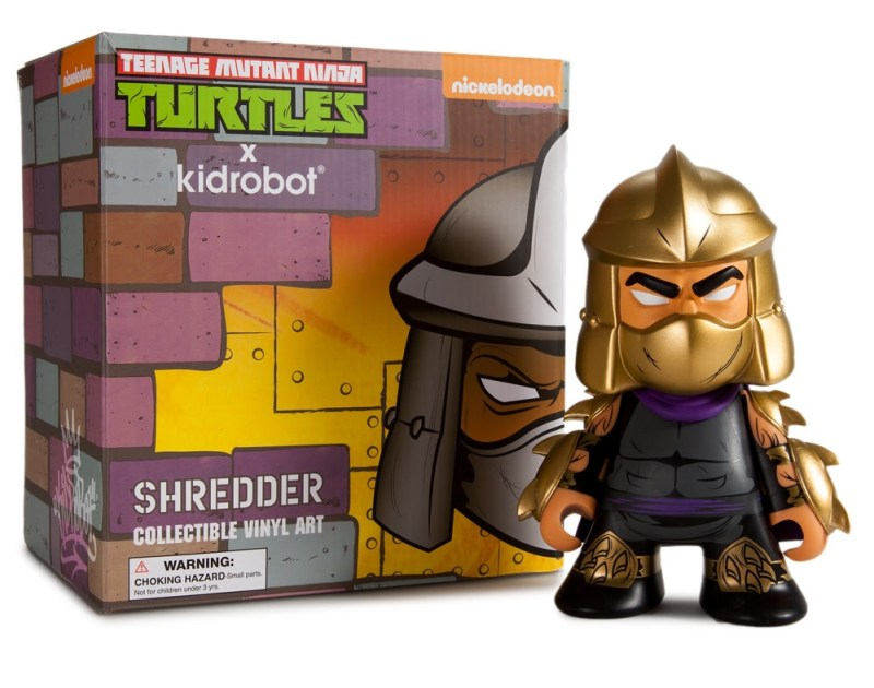 "Teenage Mutant Ninja Turtles Gold ""Shredder"" 7-inch Figure Limited Edition 500 pieces $40"