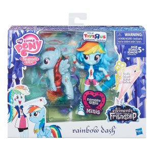 My-Little-Pony-Elements-of-Friendship-Rainbow-Dash-Pony-and-Doll-Set-(In-Package)