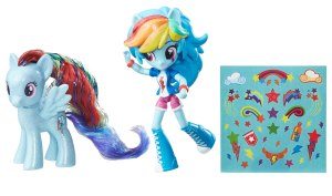 My-Little-Pony-Elements-of-Friendship-Rainbow-Dash-Pony-and-Doll-Set-(OOP)
