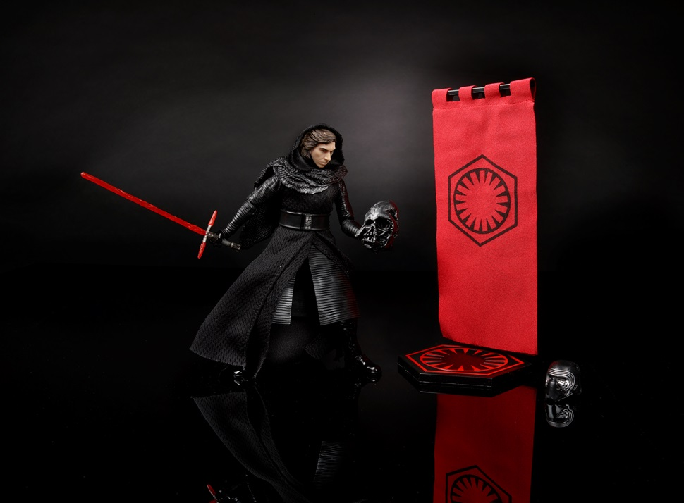 "Star Wars Black Series ~ 6/"" KYLO REN MASKED Action Figure ~ Hasbro"
