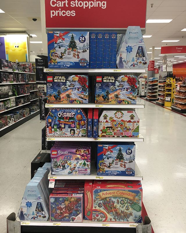 One of my local @target stores had a new endcap of just licensed s