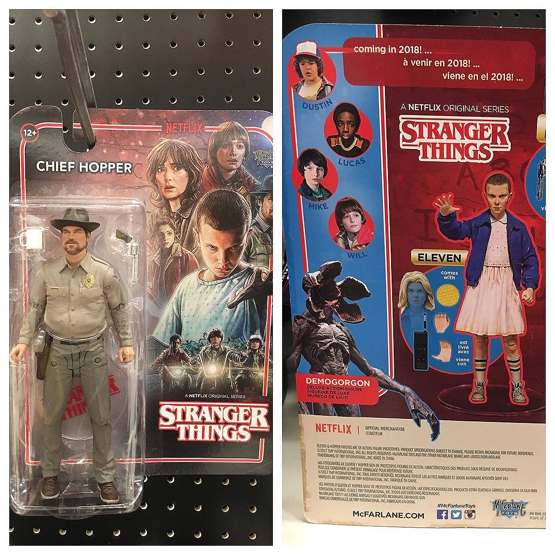 This weekend at @target I found one lone @mcfarlane_toys_official Hopper figure on the pegs.  He wasn't in their system yet.