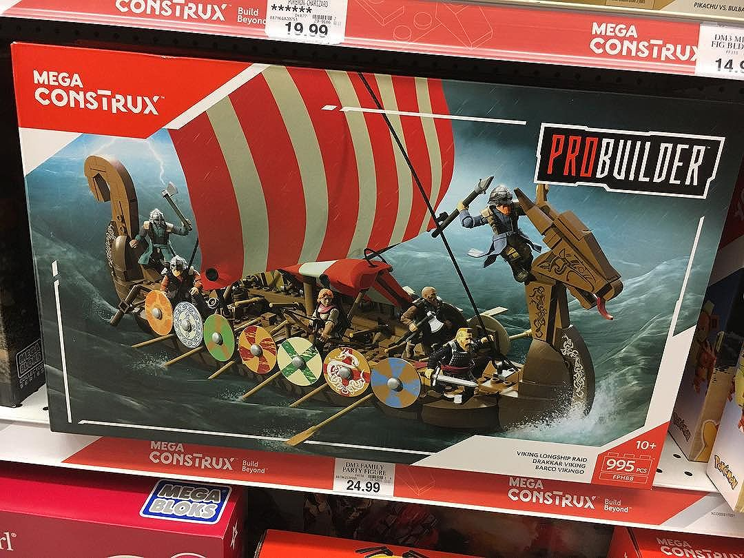 @megaconstrux are doing some cool unlicensed sets now.