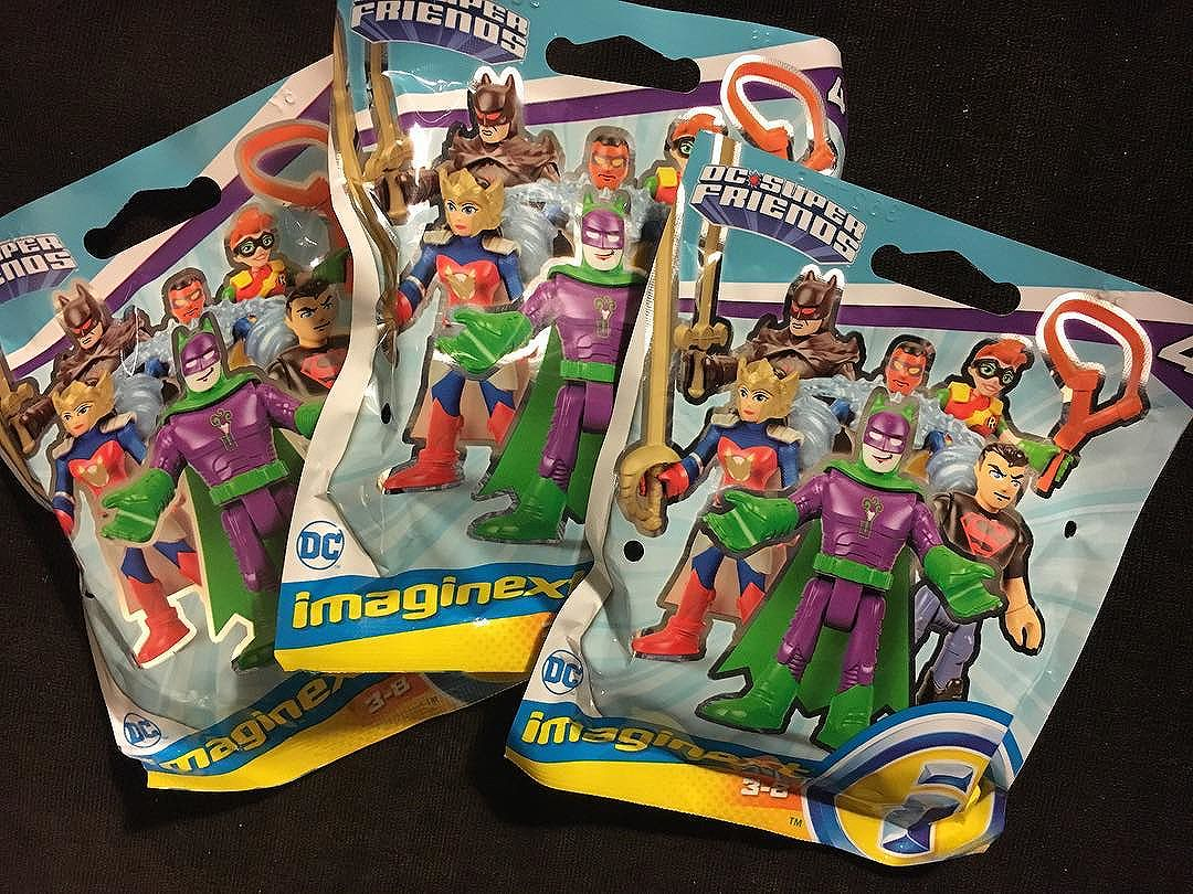 3 down, 3 to go! Found half of the new @dccomics @imaginext blind-bagged wave 4 figures today!