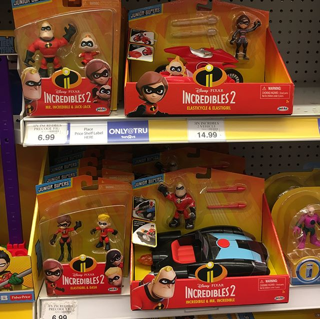 "@jakkstoys is sneaking into @imaginext territory with their new @theincredibles 2 ""Junior Supers"" line."