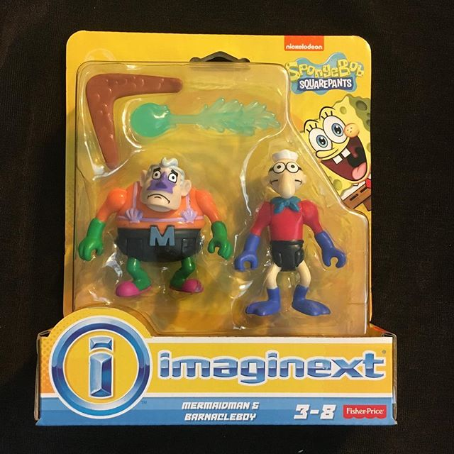 I wasn't going to include this @imaginext set in the Aquaman collection, but they are like $2.50 now at @toysrus