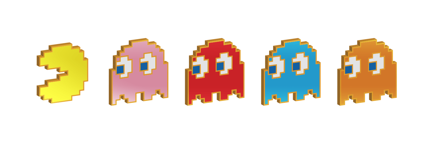 Action Figure Insider » @FigPin Announces New Retro Pac-Man Pin Sets