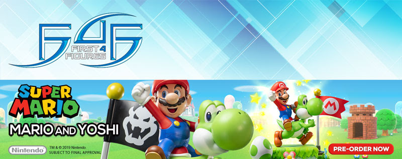 Action Figure Insider » First 4 Figures Presents Super Mario