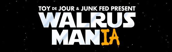Walrus Mania Group Art Show Opens Feb 21st at Toy de Jour, Chicago