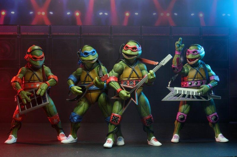 SDCC 2020 NECA Ninja Turtles Musical Mutagen Tour Bundle TMNT XXL In Hand New