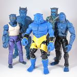 Marvel Legends Nemesis Wave - Beast - with custom Astonishing X-Men, custom Perez, X-Men Classics, and Movie Beasts (1200x1199).