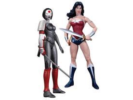 The New 52 Figure Two-Pack - Wonder Woman Vs. Katana