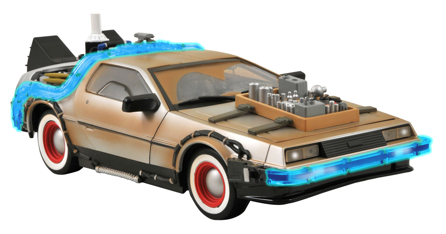 Diamond Select Toys Delorean 91