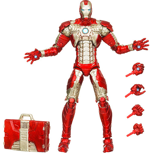 e9f0ef6649 Iron Man 2 Mark V 6-Inch Exclusive Figure In Stock at Walmart.com