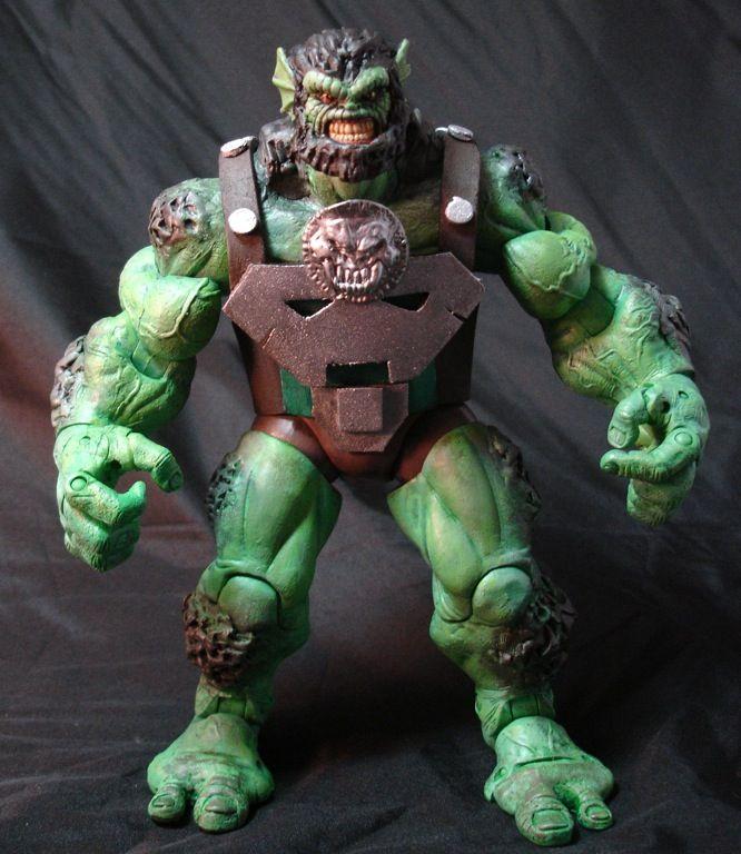 CC30 Marvel Legends Ulik Build A Figure Series By CRobTheCreator