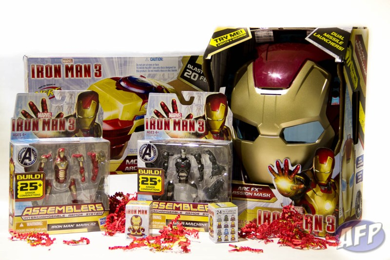 Hasbro Iron Man 3 AFP Free Stuff Giveaway