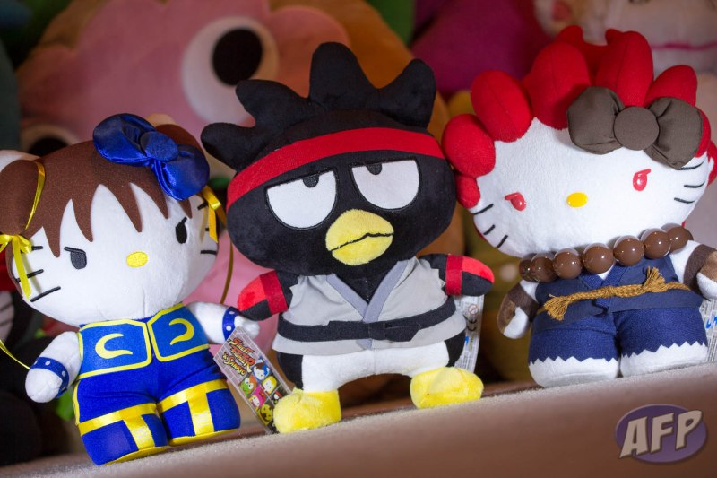 Toynami Hello Kitty Street Fighter SDCC Exclusives 2012 - 2013
