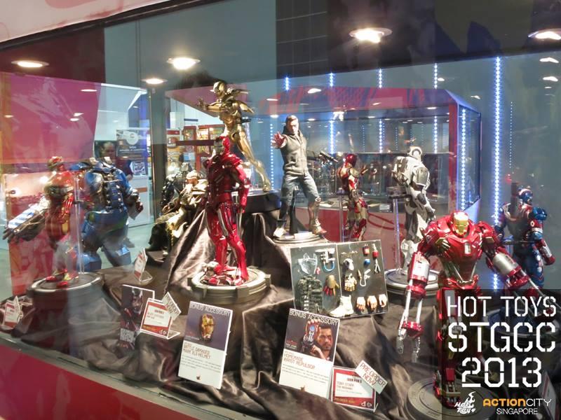 STGCC 2013 Hot Toys Booth 4