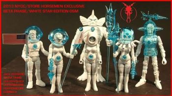 Four Horsemen NYCC exclusive Outer Space Men and Power Lords 1