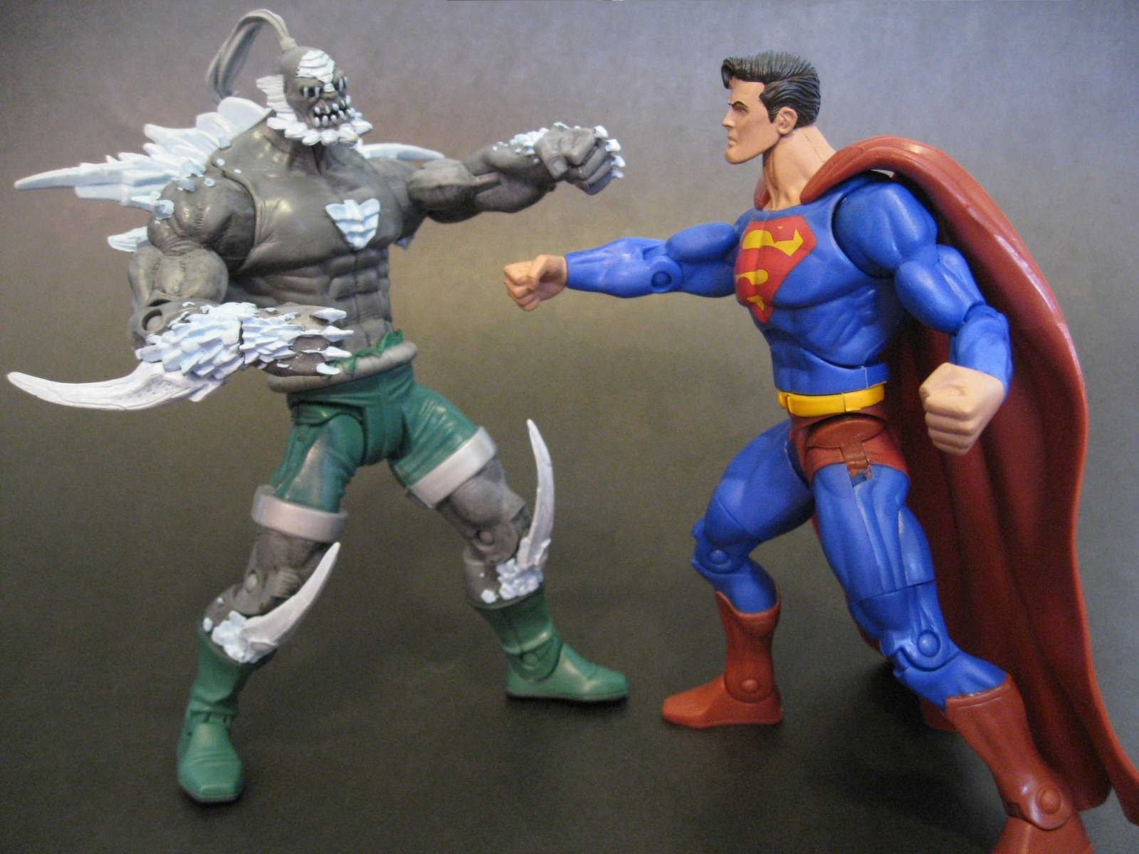 Soapbox Sunday Mattel Sdcc Exclusive Dc Universe Classics Doomsday Bound To Be A Disappointment Actionfigurepics Com