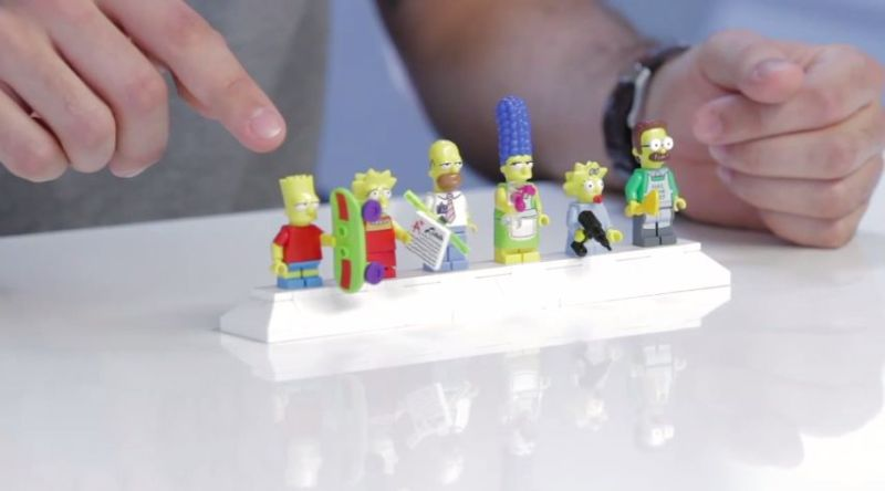 Simspons LEGO Minifigures