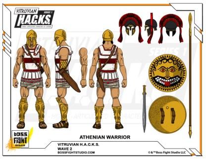 Wave 2 - Athenian Warrior