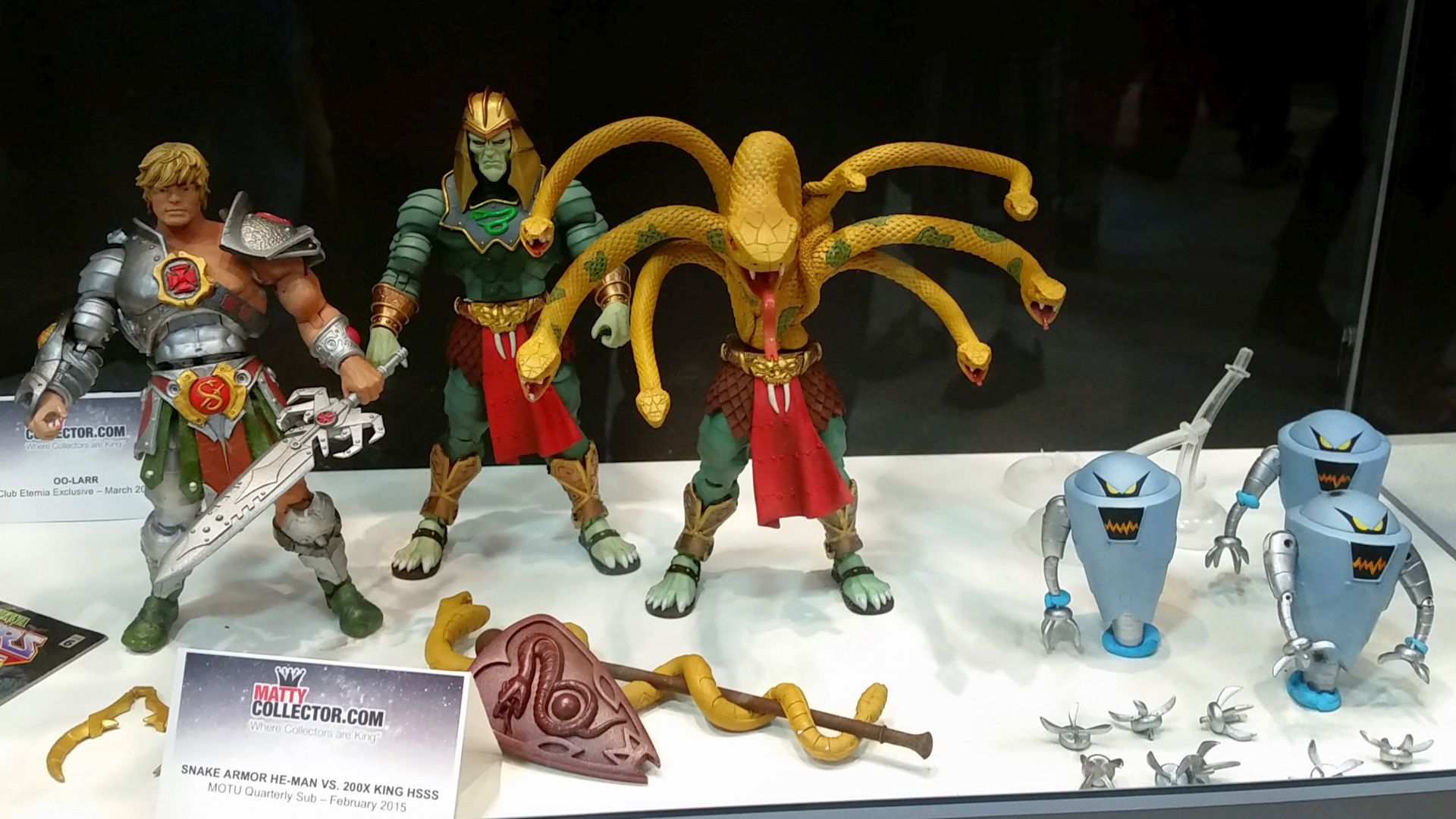 Masters of the Universe MOTUC He-Man Motu Classic Figure Snake King
