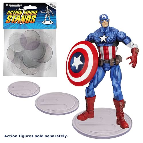 Entertainment Earth 4-Inch Action Figure Stands 1