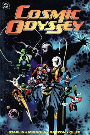 Cosmic Odyssey cover