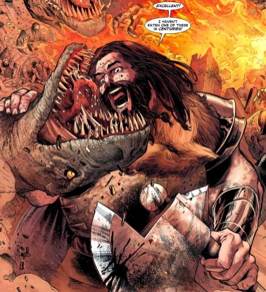 Vandal Savage - caveman