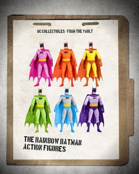 DC Collectibles (unproduced) - Rainbow Batman Action Figures