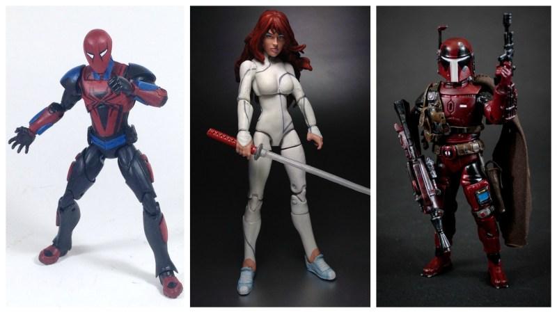 Border Patrol - Marvel Legends Ends of the Earth Spider-Man, Marvel Universe Colleen Wing, and Star Wars Black Series Deadpool Fett
